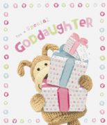 Boofle Goddaughter Birthday card